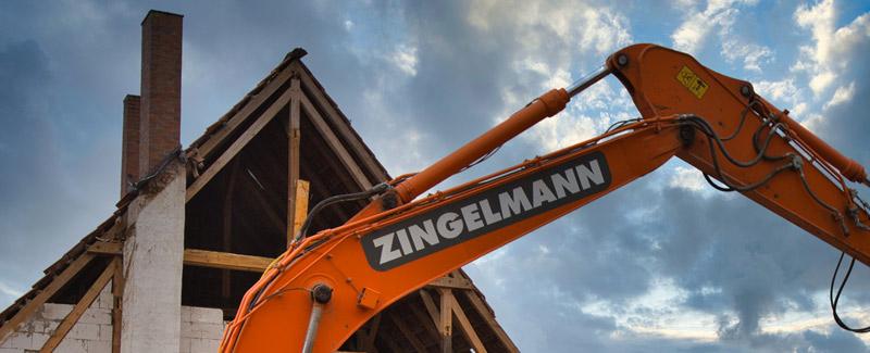 Abbruch, Zingelmann GmbH in Trittau