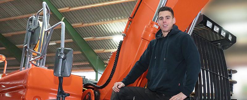 Dennis Graw. 2. Landessieger Tief- und Straßenbau, Zingelmann Gmbh